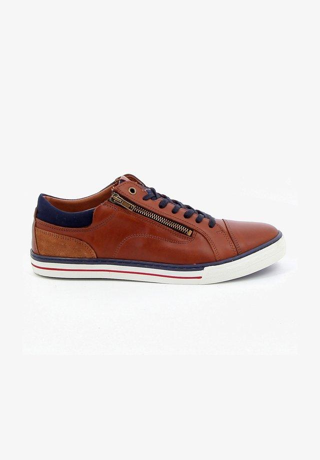 WALAS - Sneakers laag - cognac