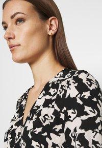 Fabienne Chapot - NATASJA DRESS - Maxi dress - black/warm white - 3