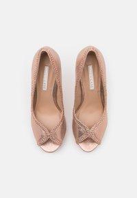 Dorothy Perkins - SHOWCASE GHOSTLY PEEPTOE - Peeptoe heels - rose gold - 5