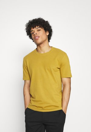 SIMS - Basic T-shirt - dried tobacco melange
