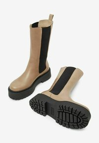 Bianco - BIADEB  - Platform boots - lightbrown6 - 3