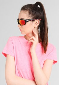 Uvex - SPORTSTYLE 222 - Sports glasses - black mat red - 1