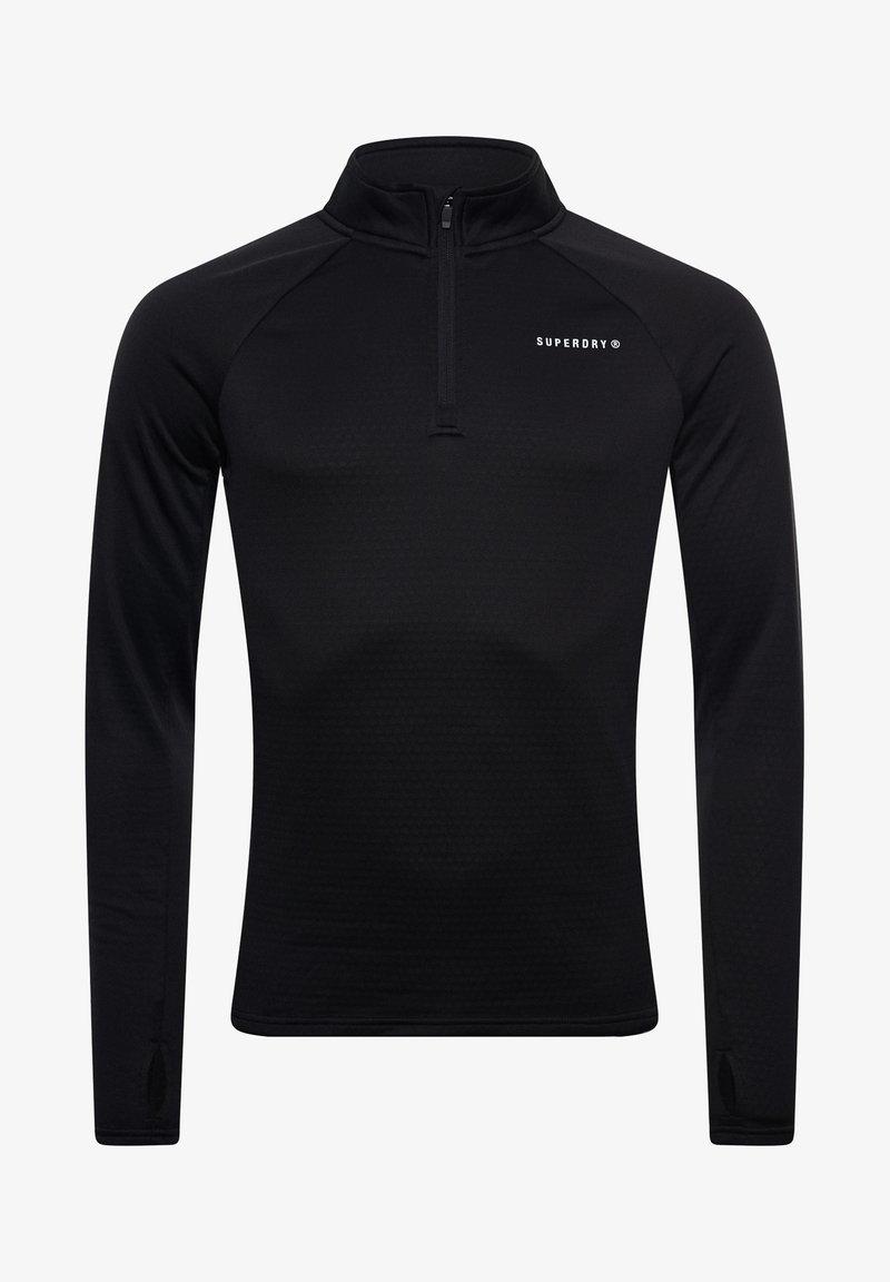 Superdry - Long sleeved top - black