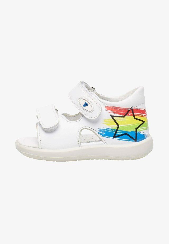 BARRAL - Walking sandals - weiß