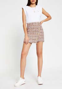 River Island - Wrap skirt - orange - 1