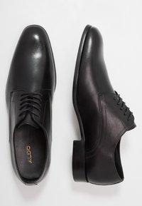 ALDO - PROVEN - Elegantní šněrovací boty - black - 1