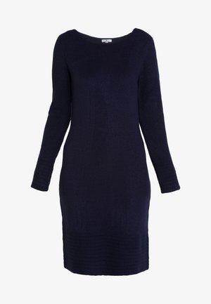 DRESS - Jumper dress - real navy blue