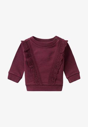 Jumper - burgundy