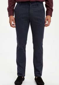 DeFacto - Trousers - navy - 1