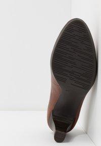 Tamaris - Platform heels - brandy - 6