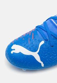 Puma - FUTURE Z 3.2 MG JR UNISEX - Moulded stud football boots - bluemazing/sunblaze/surf the web - 5