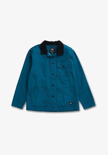 DRILL CHORE  - Summer jacket - moroccan blue