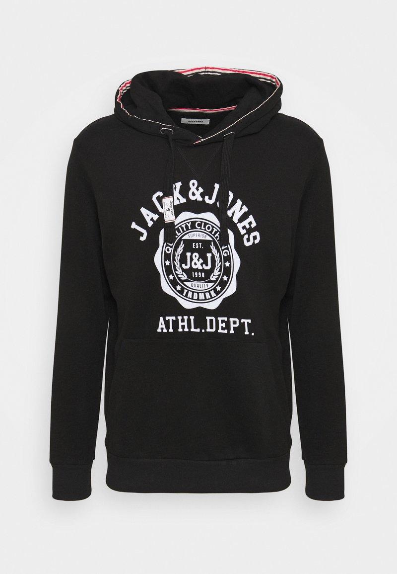 Jack & Jones - JJFLOCK HOOD - Hoodie - black