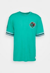 Mitchell & Ness - NBA VANCOUVER GRIZZLIES FINAL SECONDS TEE - Club wear - teal - 3