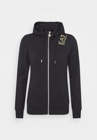 EA7 Emporio Armani - Zip-up hoodie - black - 3