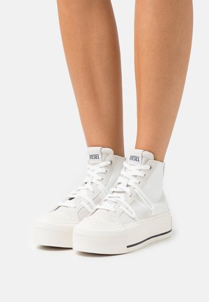S-ASTICO DSL MY WEDG - High-top trainers - white