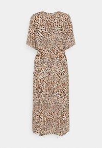 Noisy May - NMFIONA CALF DRESS - Shirt dress - sugar almond - 1