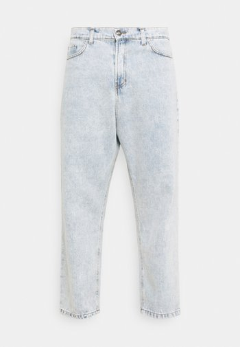 PANT CROPPED - Relaxed fit jeans - denim acid
