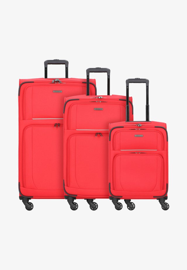 3  PACK - Set di valigie - red