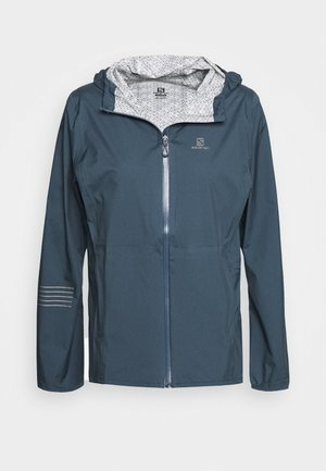 LIGHTNING - Hardshelljacke - dark denim