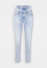 PEDAL PUSHER - Slim fit jeans - light blue
