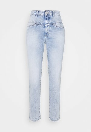 PEDAL PUSHER - Slim fit jeans - light blue