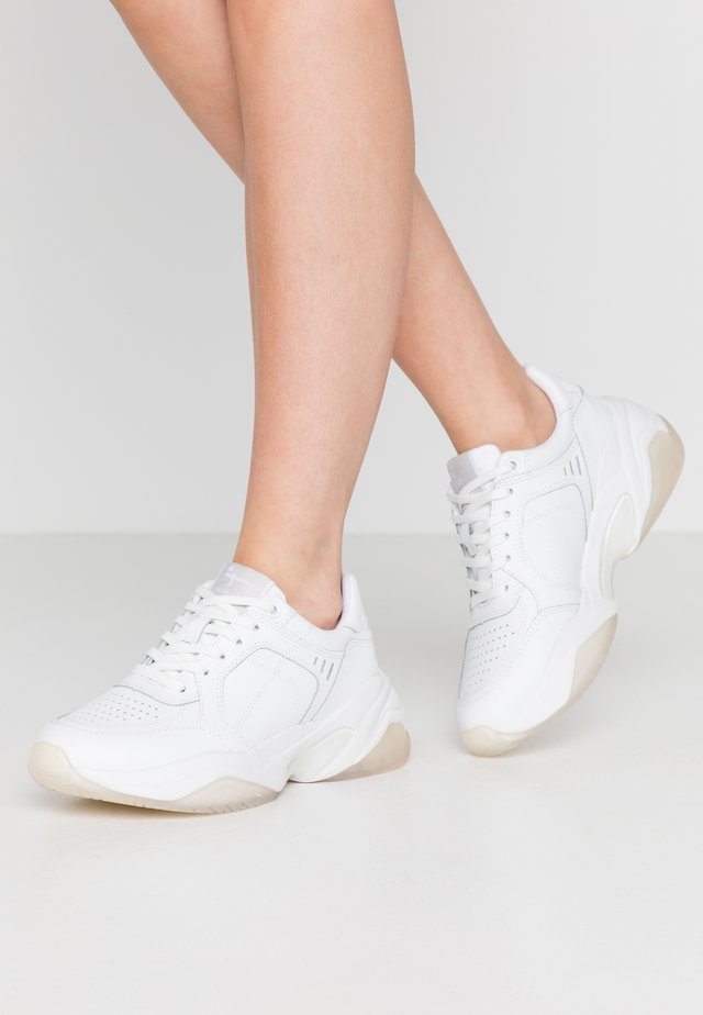 LACE-UP - Sneakers - white
