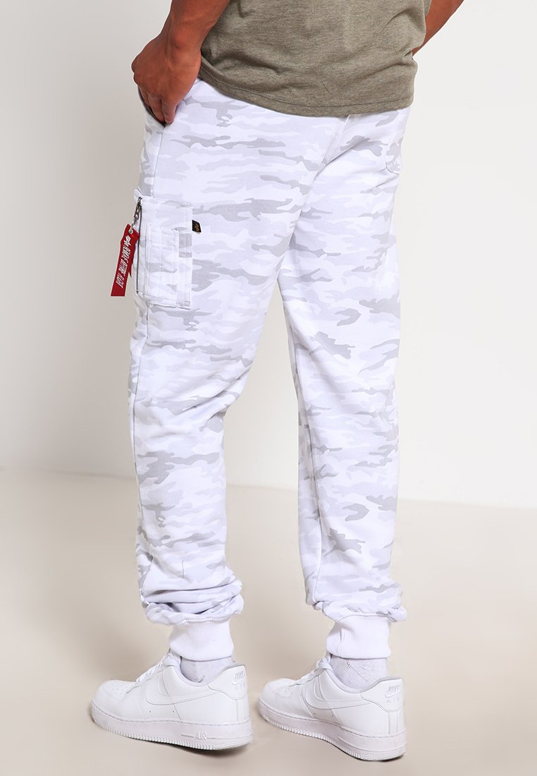 Alpha Industries Fit Pant - Joggebukse White/hvit