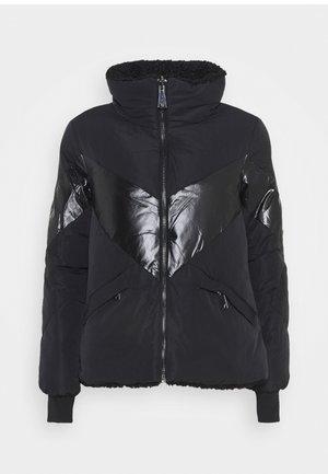 ORIETTA REVERSIBLE JACKET - Zimní bunda - jet black