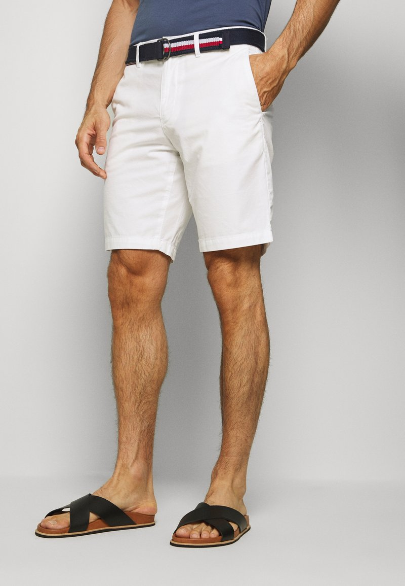 Tommy Hilfiger - BROOKLYN LIGHT BELT - Shorts - white