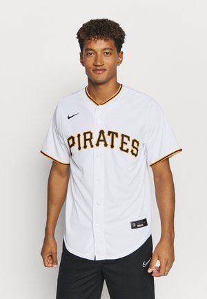 MLB PHITTSBURG PIRATS OFFICIAL REPLICA HOME - Triko s potiskem - white/scarlet