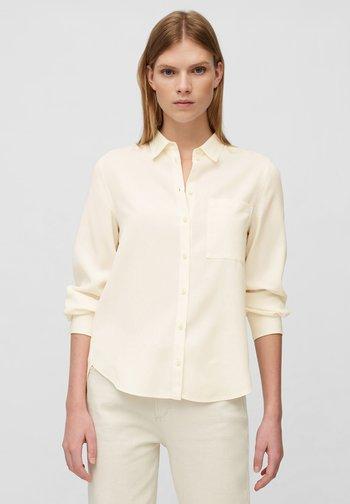 Button-down blouse - raw cream