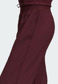 adidas by Stella McCartney - CF MACCARTNEY TRAINING WORKOUT PANTS - Pantalones deportivos - burgundy - 7