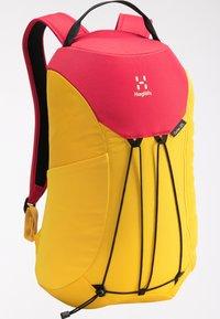 Haglöfs - Hiking rucksack - pumpkin yellow/scarlet red - 5