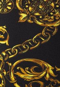 Versace Jeans Couture - PANTS - Legginsy - black/gold - 6