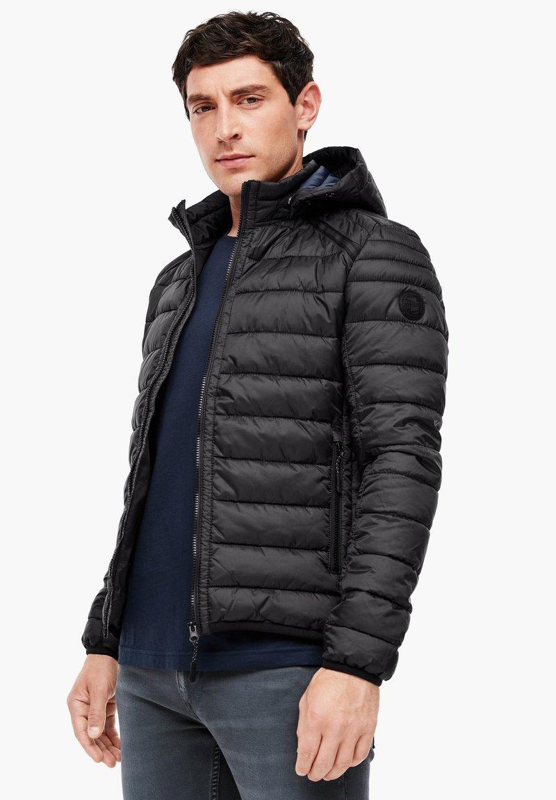 s.Oliver - LANGARM - Light jacket - black