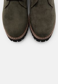 Rieker - Lace-up ankle boots - tanne/grau/rost - 5