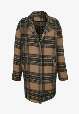 Classic coat - camel,braun