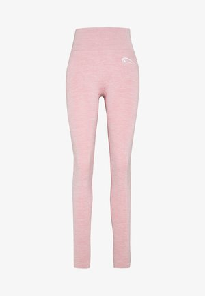 SEAMLESS LEGGINGS GLOW - Trikoot - rosa