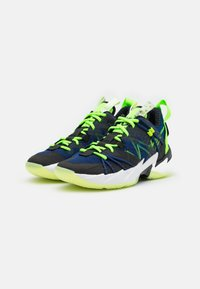 Jordan - WHY NOT SE - Zapatillas de baloncesto - black/key lime/blue void/summit white/white/barely volt - 1