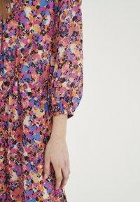 InWear - Shirt dress - pink flower field - 5