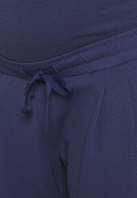 MAMALICIOUS - MLLIF PANTS - Kalhoty - crown blue - 2