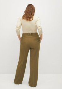 Violeta by Mango - AWESOME - Trousers - grün - 2