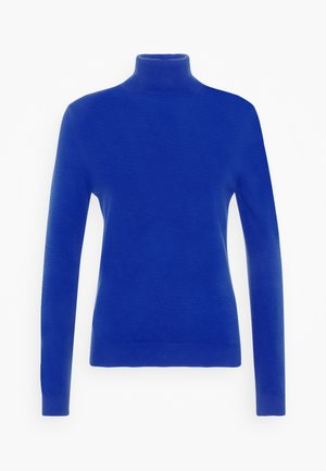 TURTLE NECK - Pullover - blue