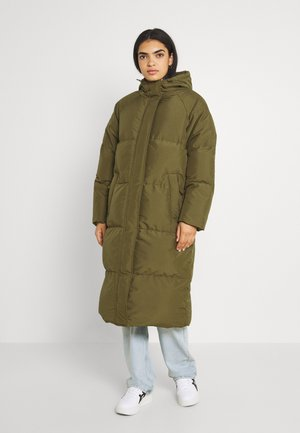 FLAWOLA  - Winter coat - dark olive