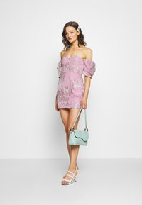 Missguided - PUFF SLEEVE MINI DRESS - Vestito elegante - pink - 1