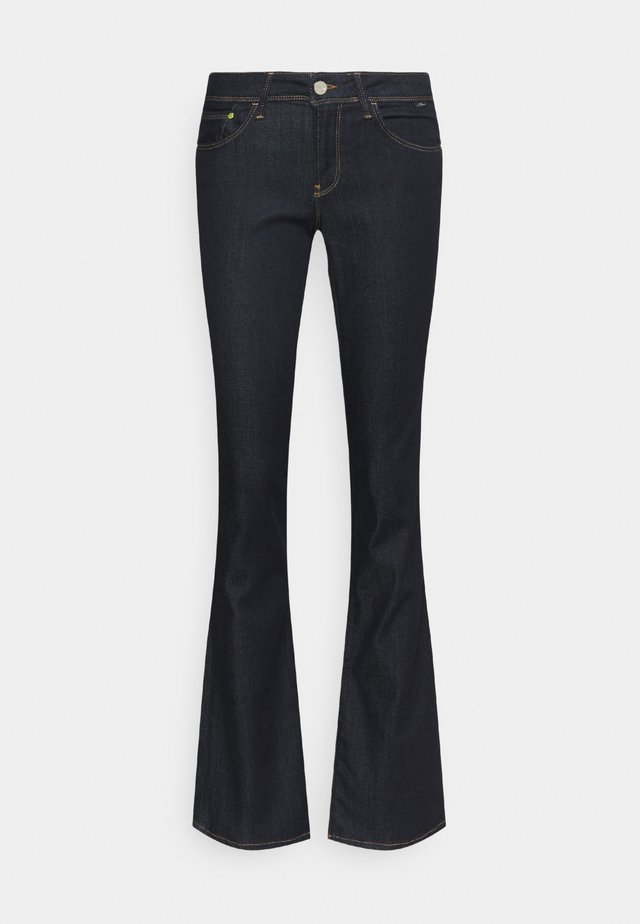 BELLA MID RISE - Jeans Bootcut - rinse