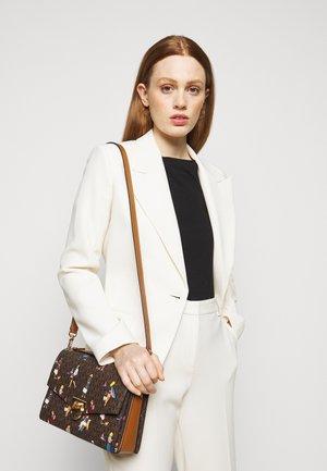 HENDRIX - Handbag - brown/multi