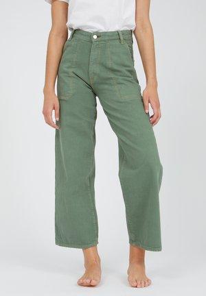 Jeans Bootcut - matcha