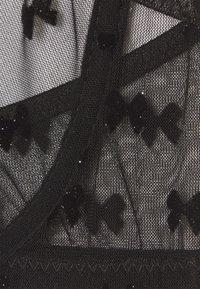 Le Petit Trou - ABELLE BRA - Underwired bra - black - 2